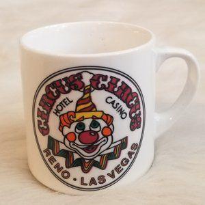 Vintage Circus Circus Hotel Casino Mug